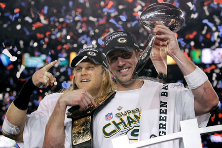 Green Bay packers super bowl champs. Ronald Martinez - Getty Images about 3