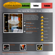 Carlo's Copa Room Website Design and Launch