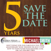 5 Year Anniversary Save The Date