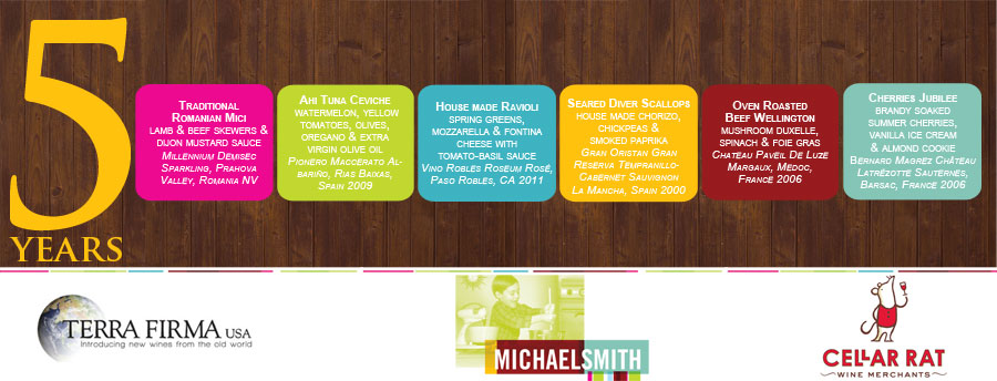 Email Marketing Creative from Evans Media Group for client Michael Smith Restaurant